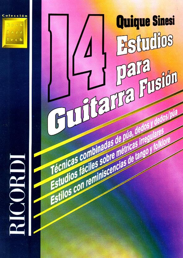 14 Estudios Para Guitarra Fusión