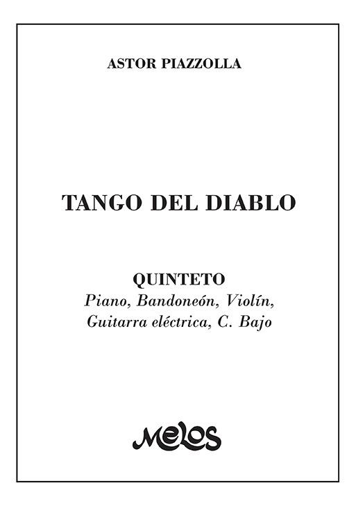 Tango Del Diablo (quinteto)