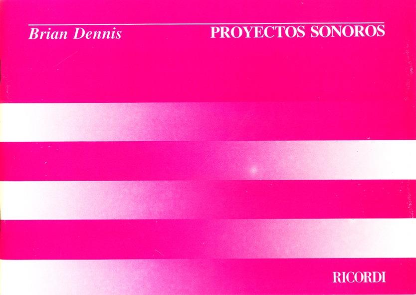 Proyectos Sonoros