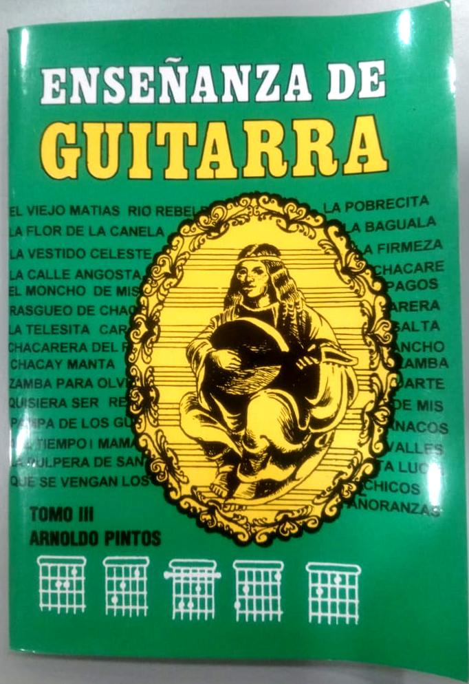 Enseñanza De Guitarra – Tomo 3