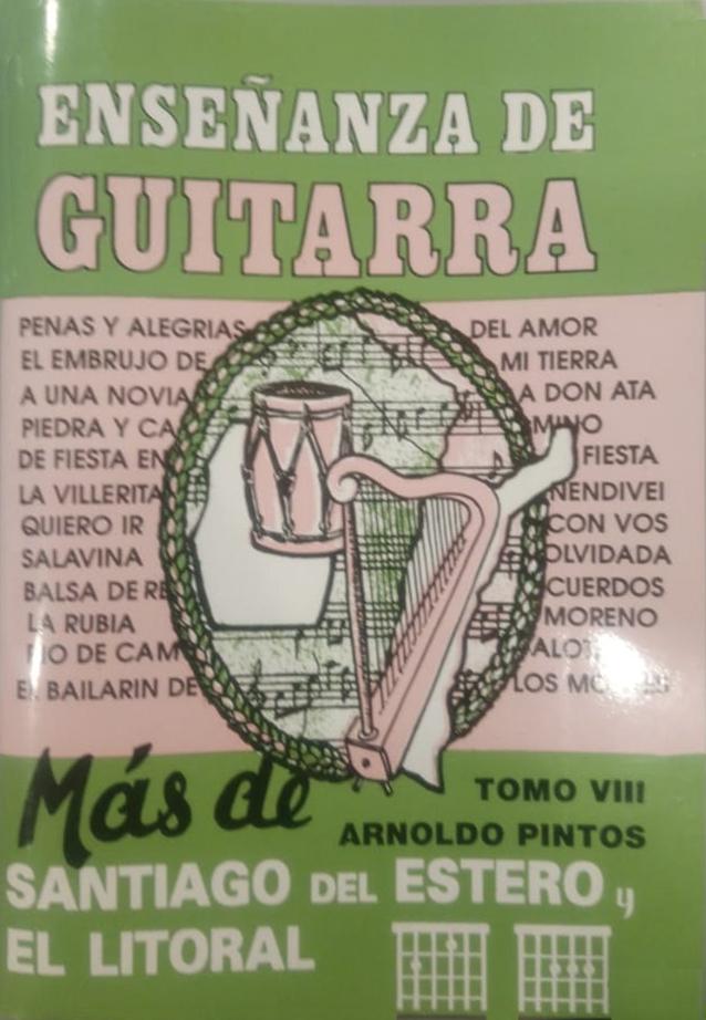 Enseñanza De Guitarra – Tomo 8