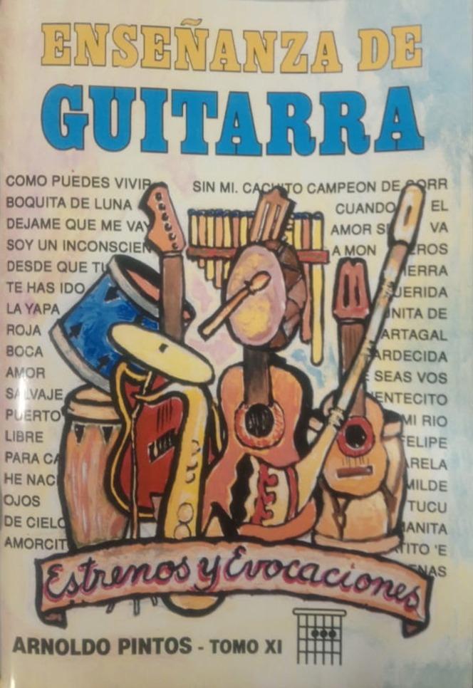 Enseñanza De Guitarra – Tomo 11