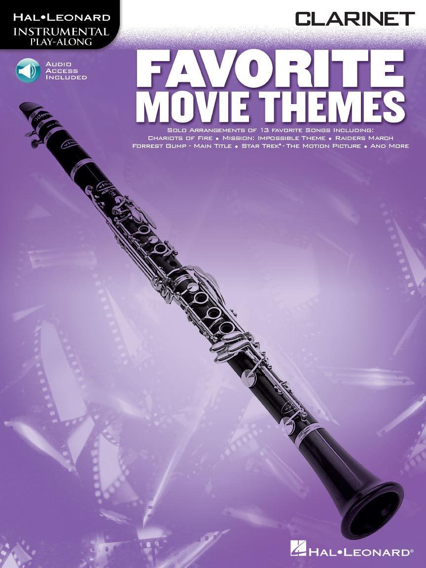 Favorite Movie Themes – Clarinet