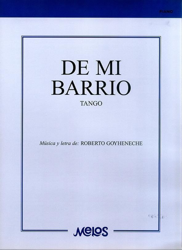 De Mi Barrio (tango)