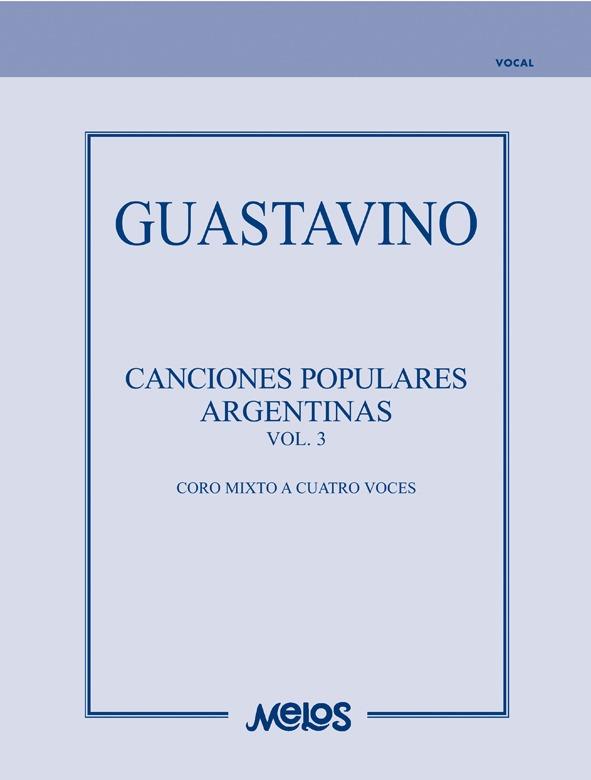 Canciones Populares Argentinas – Vol. 3