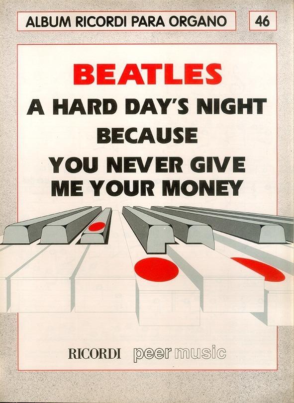 Álbum Para Órgano Nº 46 Beatles