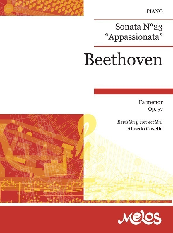 Sonata, Nº 23 Fa Menor, Op. 57 ( Appasionata )