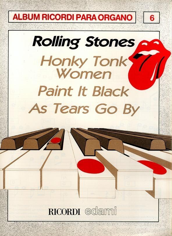 Álbum Para Órgano Nº 6 Rolling Stones