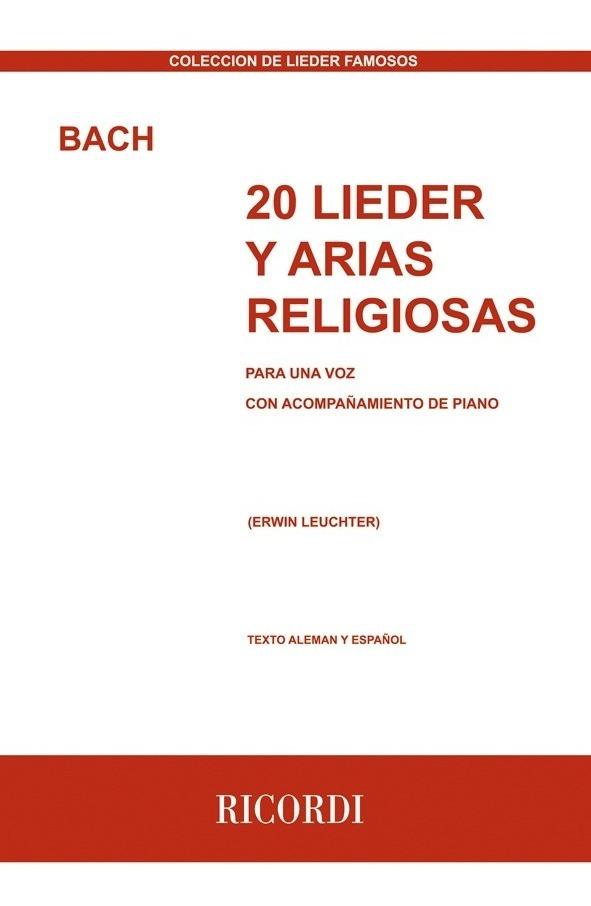 20 Lieder Y Arias Religiosas
