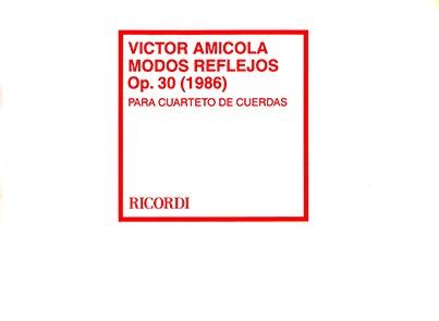Modos Reflejos, Op. 30 -1986