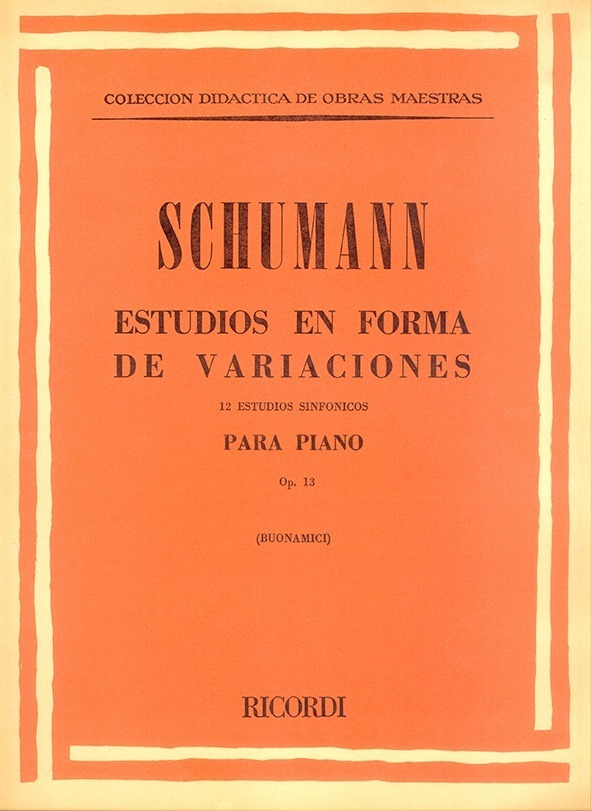 Estudios En Forma De Variaciones, Op. 13