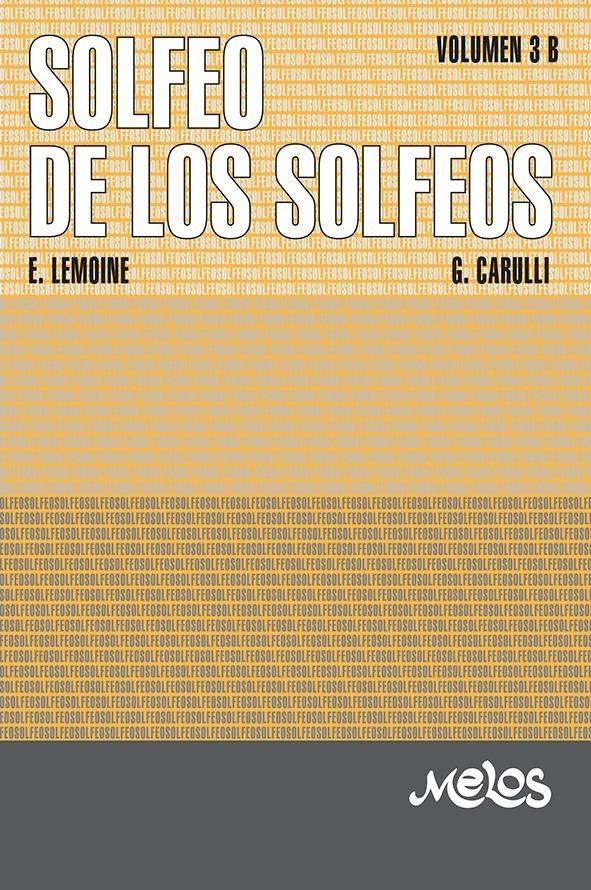 Solfeo De Los Solfeos – Vol. 3 B