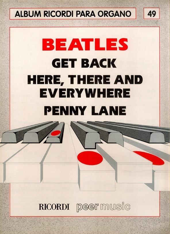 Álbum Para Órgano Nº 49 Beatles