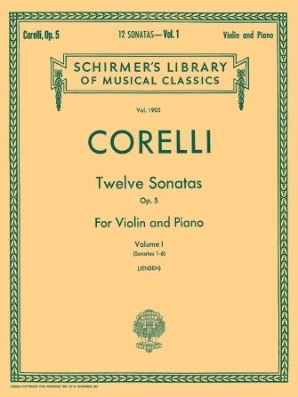 Twelve Sonatas – Op. 5 – Vol. 1.