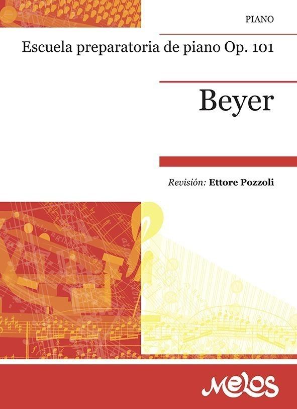 Escuela Preparatoria De Piano, Op. 101