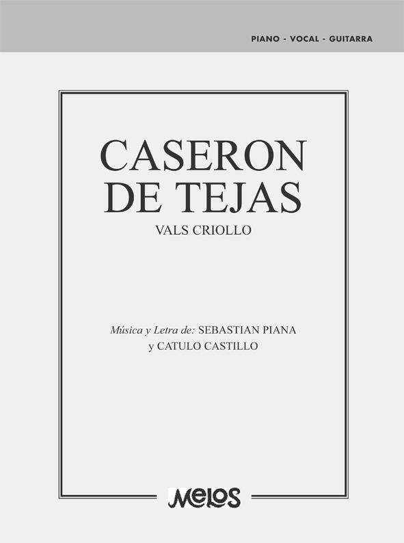 Caserón De Tajas (vals Criollo)