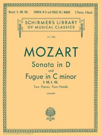Sonata In D (k.448)/fugue In C (k.426)