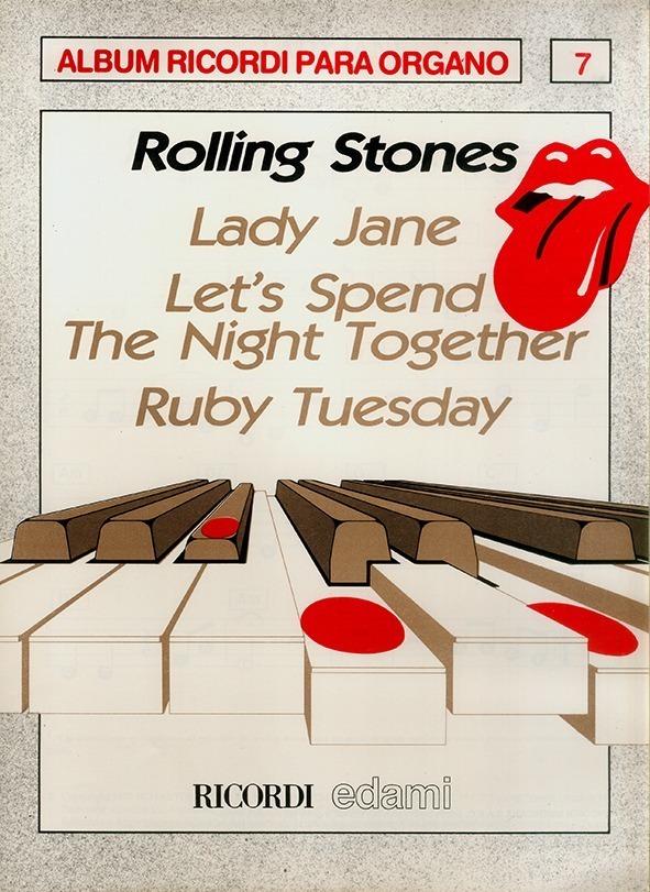 Álbum Para Órgano Nº 7 Rolling Stones