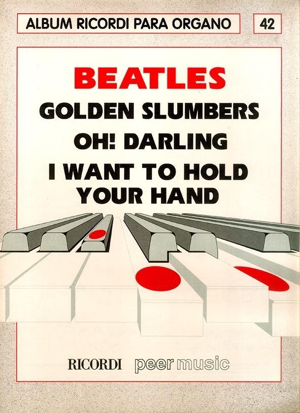 Álbum Para Órgano Nº 42 Beatles