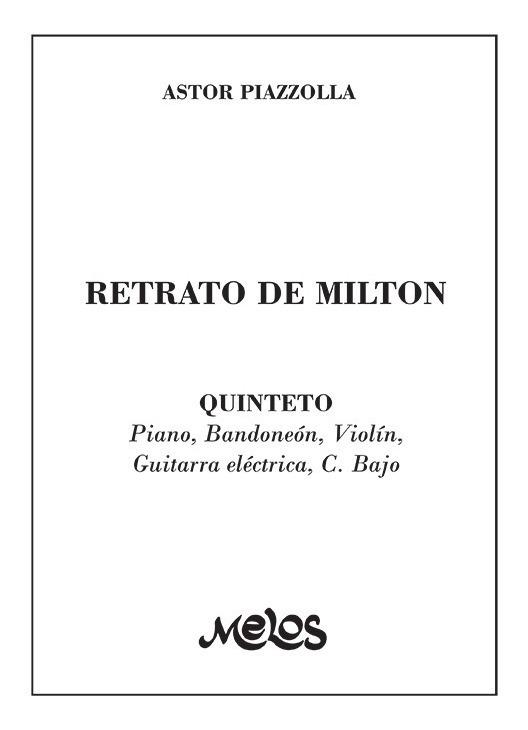 Retrato De Milton (quinteto)