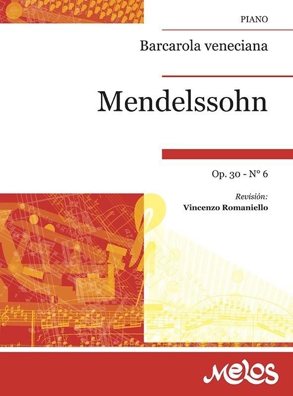 Barcarola Veneciana, Op. 30 Nº 6