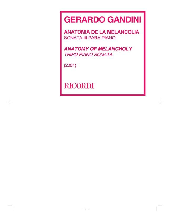 Anatomía De La Melancolía – Sonata 3