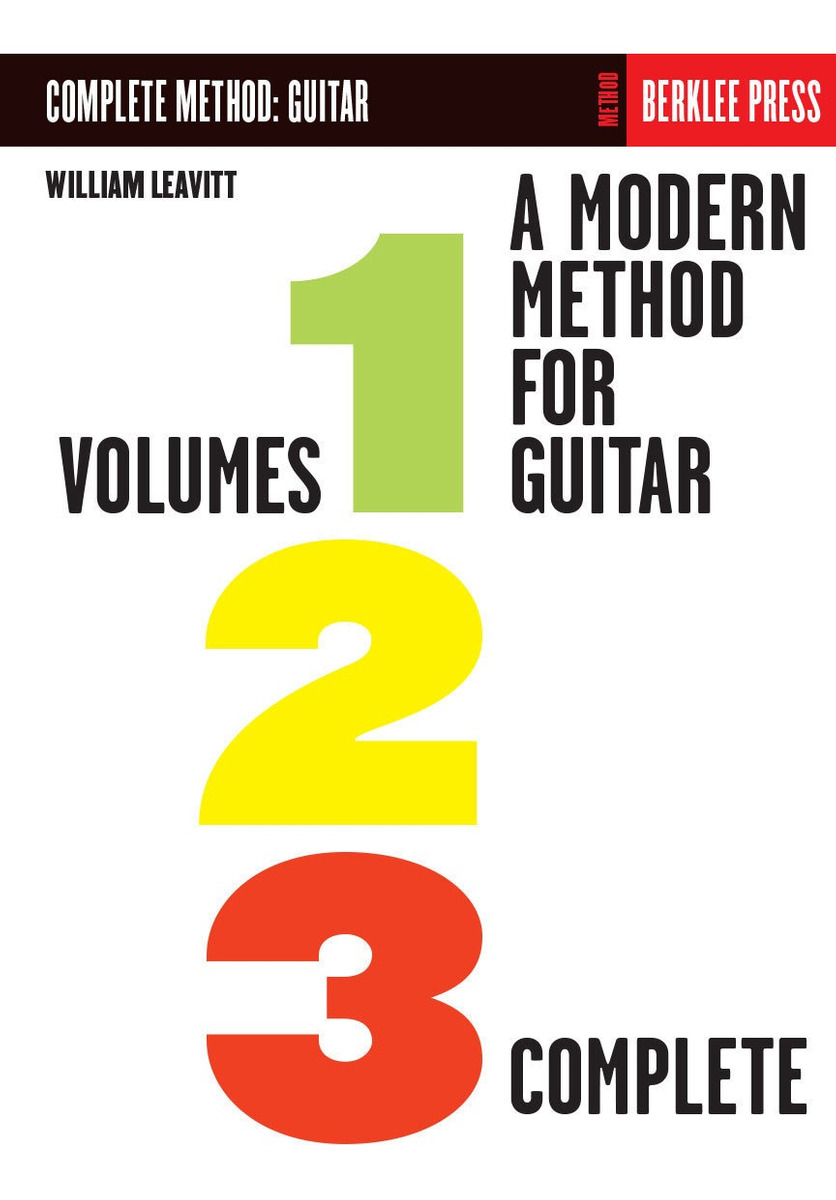 A Modern Method For Guitar –