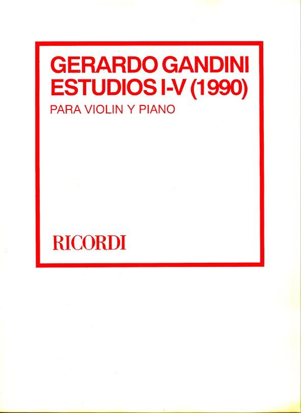 Estudios I – V -1990