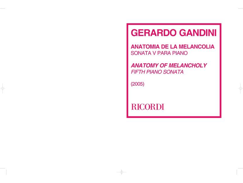 Anatomía De La Melancolía – Sonata 5