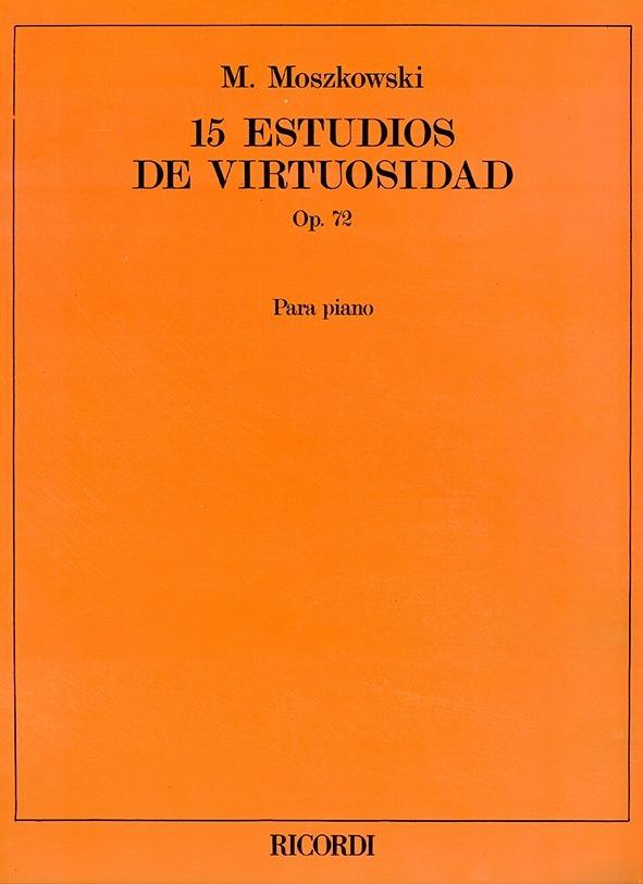 15 Estudios De Virtuosidad, Op. 72