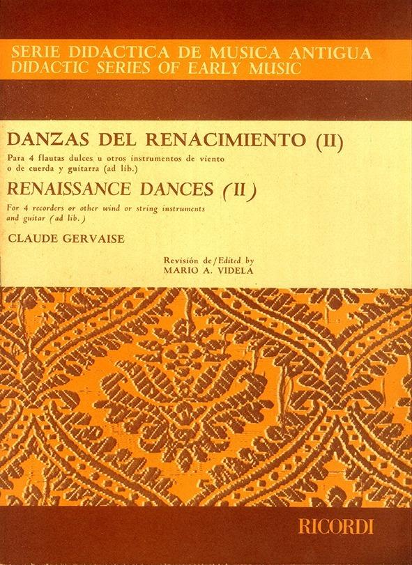 Danzas Del Renacimiento – Vol. 2º