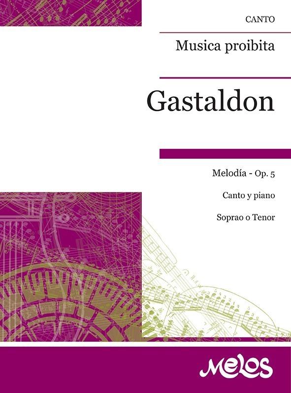 Musica Proibita, Melodia, Op. 5