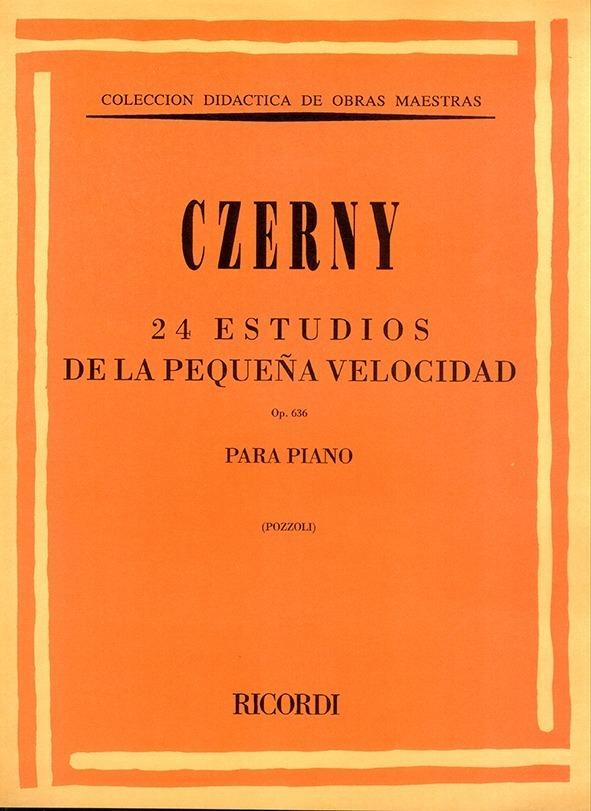 24 Estudios De La Pequeña Velocidad, Op. 636