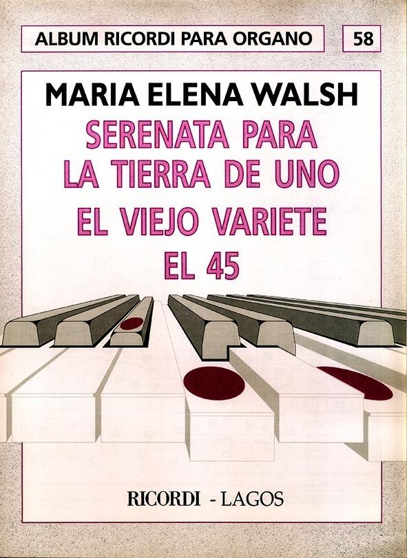 Álbum Para Órgano Nº 58 María Elena Walsh
