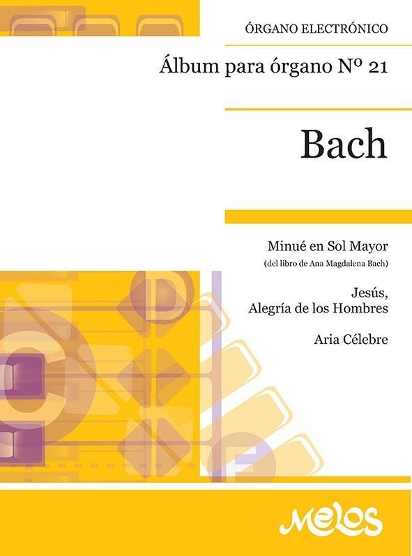 Álbum Para Órgano Nº 21 Bach