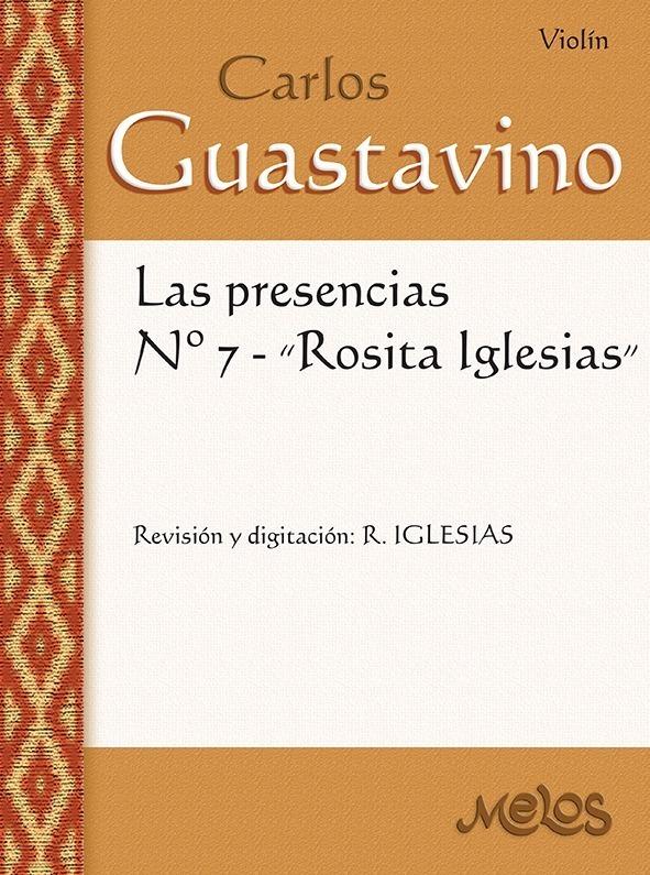 Las Presencias Nº 7 Rosita Iglesias