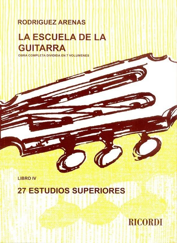 La Escuela De La Guitarra – Libro 4º