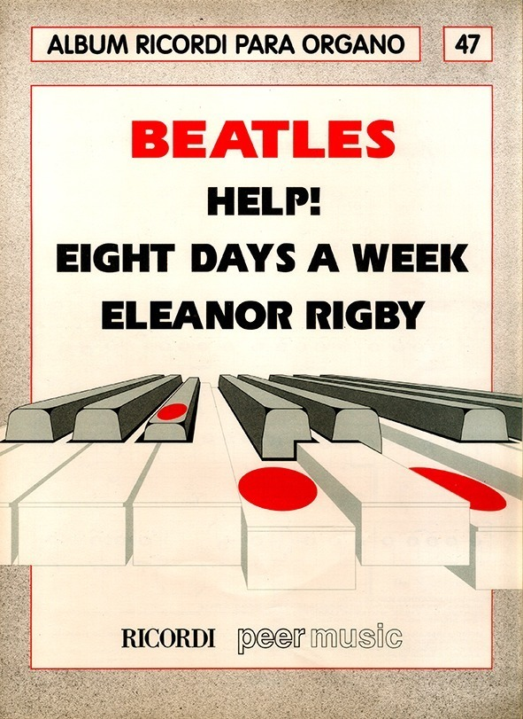 Álbum Para Órgano Nº 47 Beatles