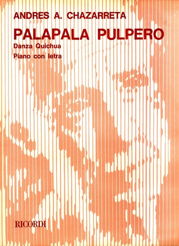 Pala-pala Pulpero (danza Quichua )