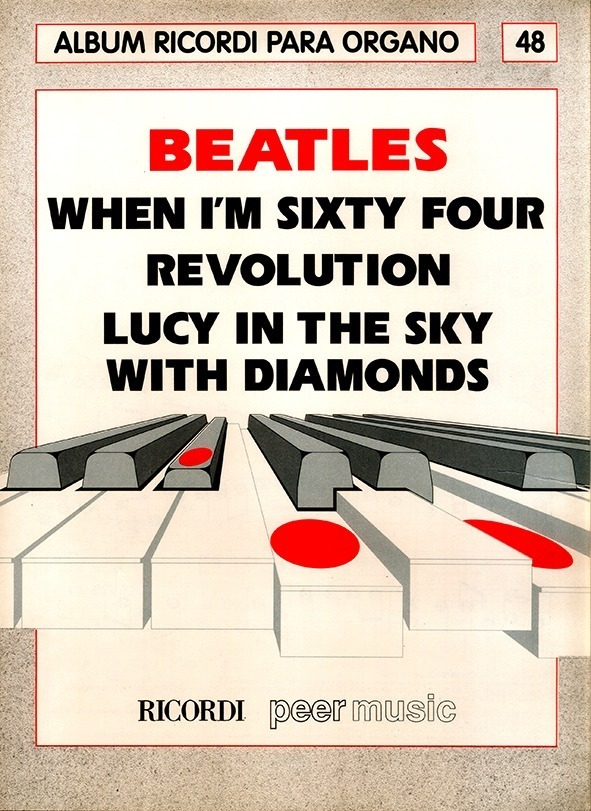 Álbum Para Órgano Nº 48 Beatles