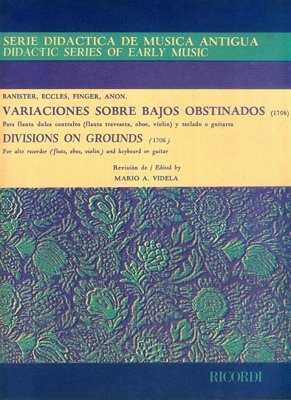 Variaciones Sobre Bajos Obstinados -1706