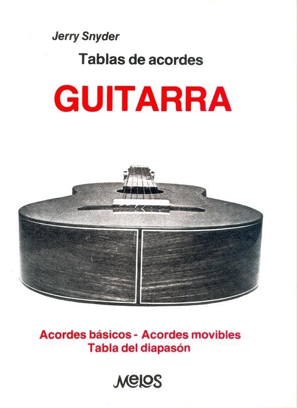 Tablas De Acordes, Guitarra