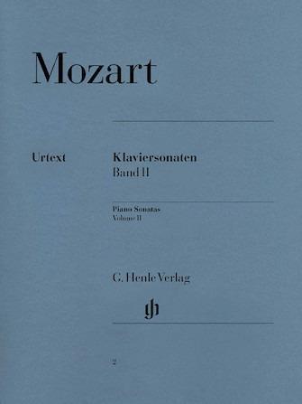 Piano Sonatas Volume Ii – Piano Solo – Urtext