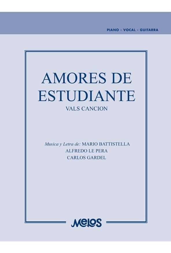 Amores De Estudiante (vals Canción)