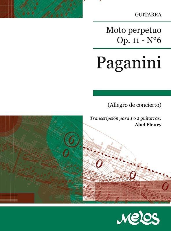Moto Perpetuo, Op. 11 Nº 6 (allegro De Concierto)