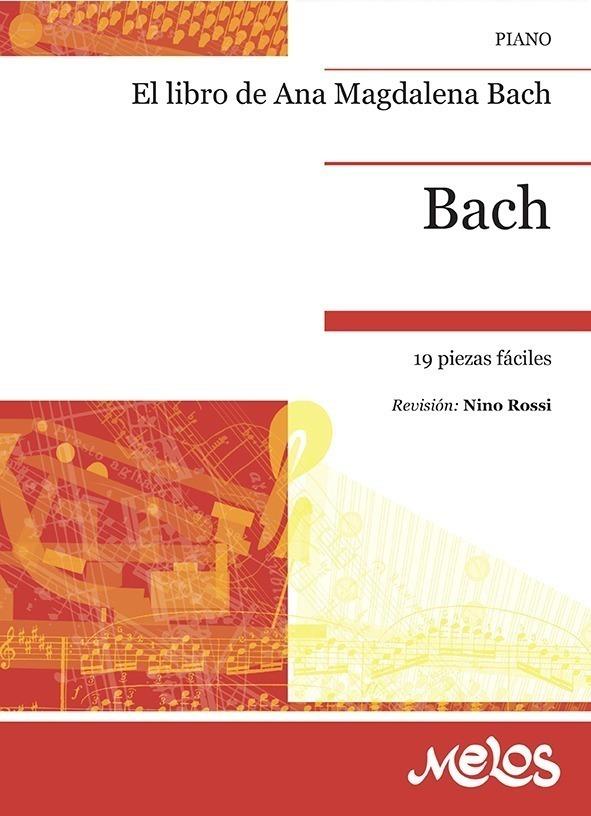 El Libro De Ana Magdalena Bach, 19 Piezas Faciles