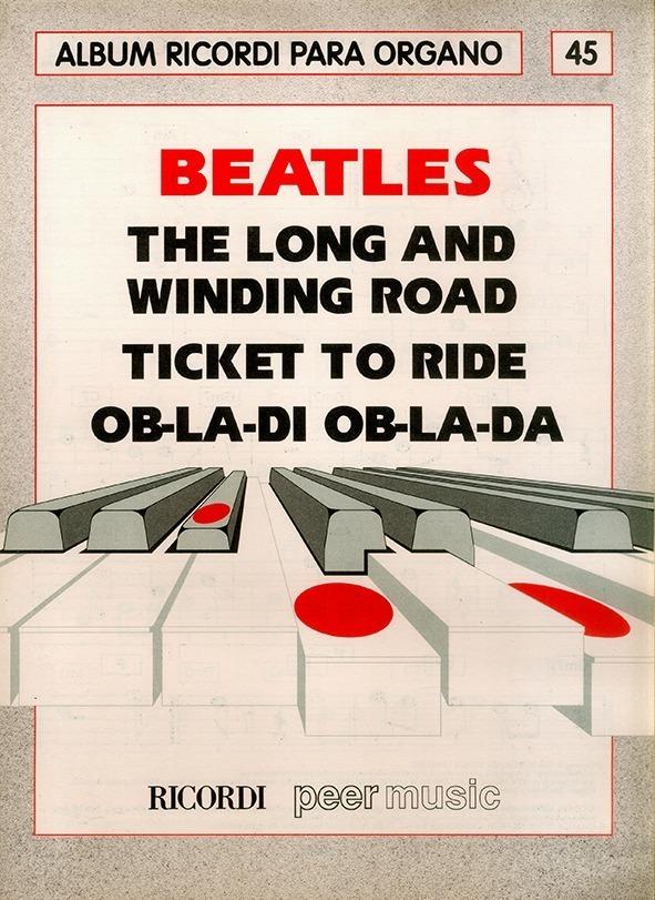 Álbum Para Órgano Nº 45 Beatles