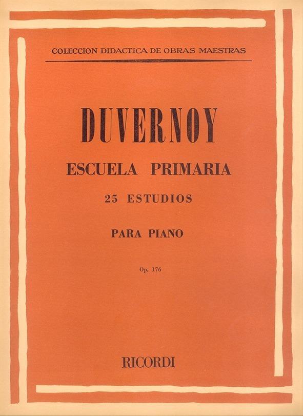 Escuela Primaria, 25 Estudios Para Piano, Op. 176